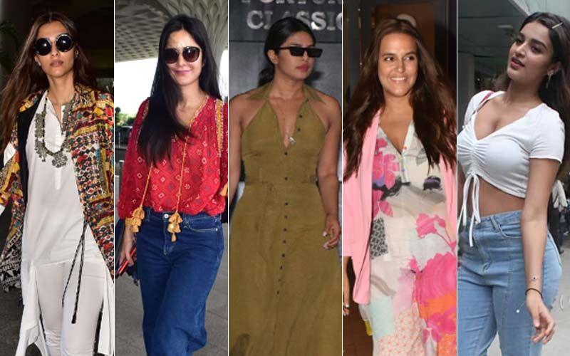 STUNNER OR BUMMER: Sonam Kapoor, Katrina Kaif, Priyanka Chopra, Nidhhi Agerwal Or Neha Dhupia?