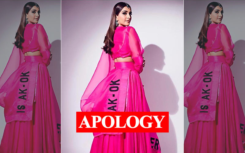 After Facing Music From Sonam-Rhea Kapoor, Diet Sabya Deletes The Controversial Insta Post And Says Sorry