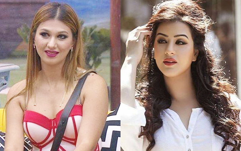 Jasleen Mathuru And Shilpa Shinde