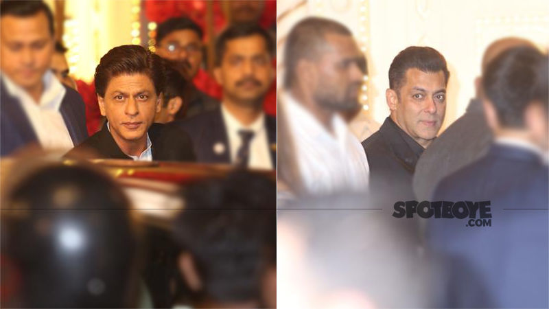 Isha Ambani-Anand Piramal Wedding: Shah Rukh Khan And Salman Khan Make Almost A Joint Entry. Who Wants To Leave the Party Now?