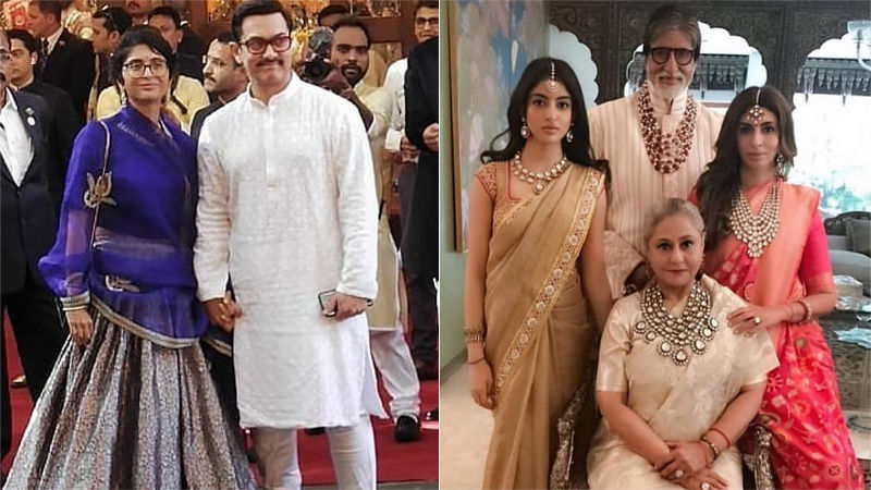 Isha Ambani-Anand Piramal Wedding: Aamir Khan-Kiran Rao And Jaya-Amitabh Bachchan Make A Grand Entry!