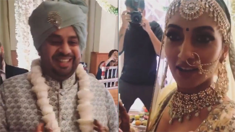 Just Married! Additi Gupta And Kabir Chopra Are Man And Wife