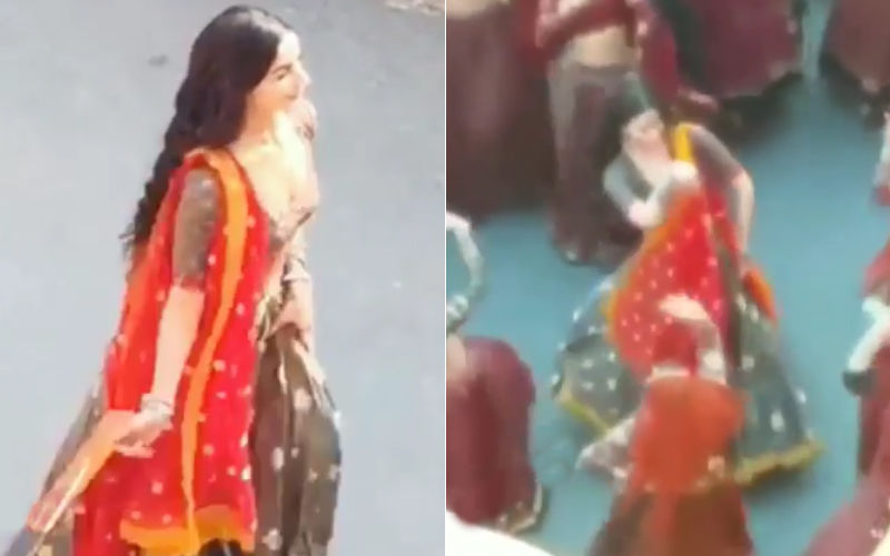 LEAKED! Alia Bhatt's Look And A Folk Dance Sequence From Kalank
