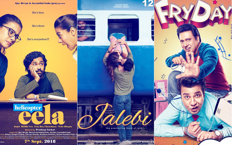 Helicopter Eela, Jalebi, FryDay- Box-Office Collection, Day 1: #MeToo The Only Topic Of Discussion? No Favourable Response To The Three Releases, Yet
