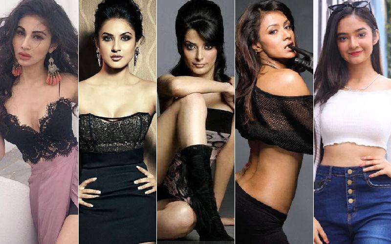 TV Hotties' Mouni Roy, Puja Banerjee, Pooja Sharma, Barkha Bisht And Anushka Sen's Shocking Transformation As Goddess Kaali