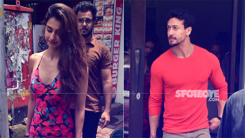 Lovebirds Disha Patani & Tiger Shroff Have A Romantic Lunch Date