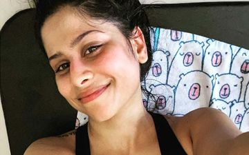 Sai Tamhankar Celebrates The Child Within Her As She Takes A Swing