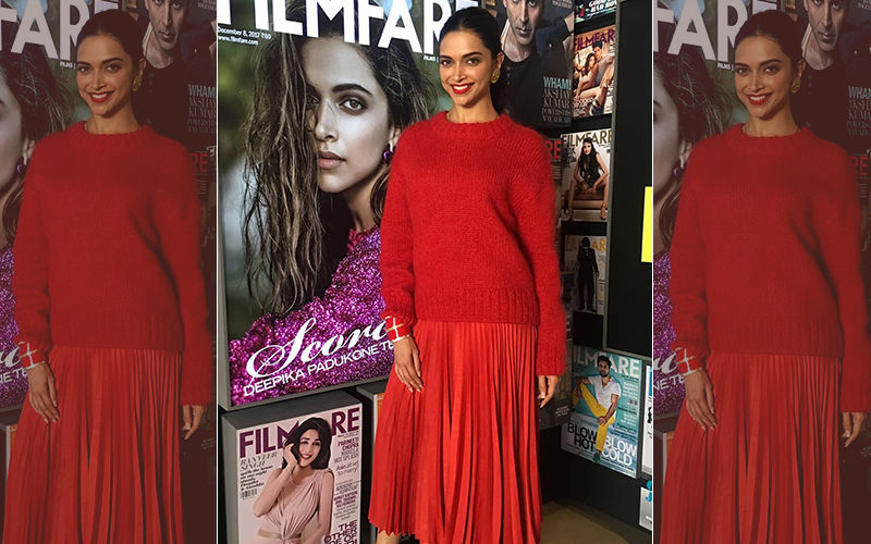 Deepika Padukone Resumes Work Post Marriage, Spotted On Sets Of Chat Show