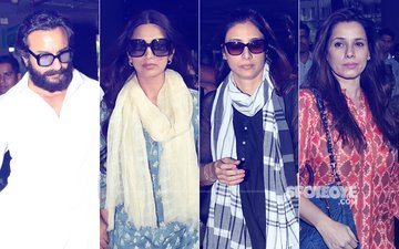 Saif Ali Khan, Sonali Bendre, Tabu & Neelam Kothari Return To Mumbai After Blackbuck Case Verdict
