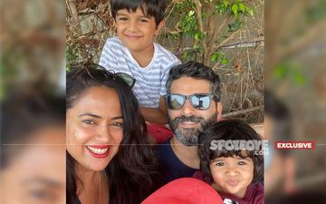 Mother's Day 2021: Sameera Reddy Says, 'Even Though I'm Strong And Positive, When Hans Got Covid, I Broke Into Pieces'-EXCLUSIVE