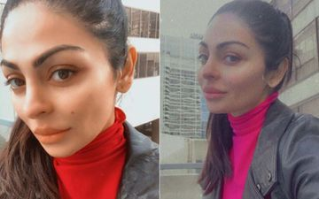 Neeru Bajwa's Latest Selfies Are All About Winter Fashion And Clear Skin Goals