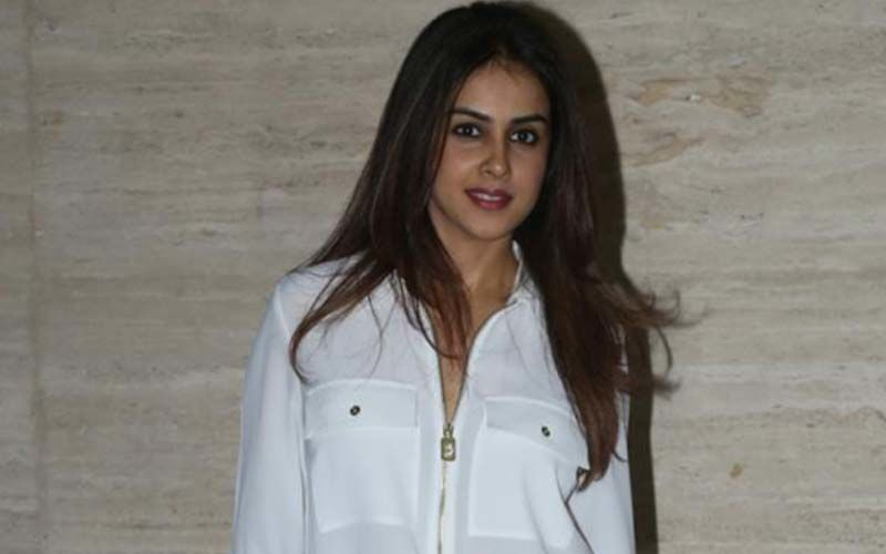 Actress Genelia Dsouza's Follows The Pawri Trend With A Twist After Getting Injured In Skating Practice