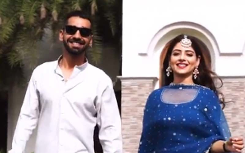 Maninder Buttar And Tania Setting Romantic Couple Vibes In The Song 'Love Me Someday'