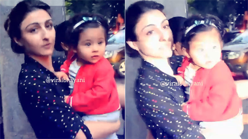 "Soha Ali Khan Gets Irritated By Camera Flashes On Inaaya; Says, ""Aapke Bacche Honge, Toh Main Aake Unpe Flash Lagaungi"""