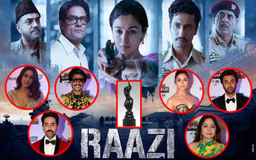 64TH Filmfare Awards 2019: Raazi Wins Best Film Award! Ranveer Singh, Ayushmann Khurranna, Neena Gupta, Ranbir Kapoor, Alia Bhatt Win Big!