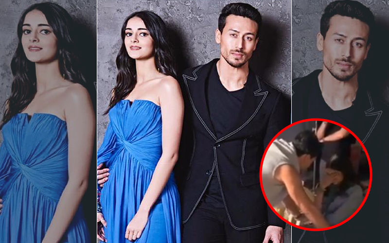 Ananya Pandey Breaks Down On Sets Of SOTY 2, Tiger Shroff Consoles The Actress