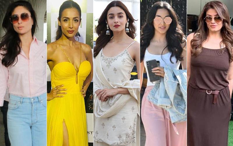 STUNNER OR BUMMER: Kareena Kapoor Khan, Malaika Arora, Alia Bhatt, Kiara Advani Or Raveena Tandon?