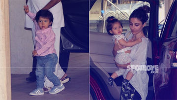 Cuties Taimur & Inaaya Are Making Our Tuesdays Brighter; Don't Miss These Pics