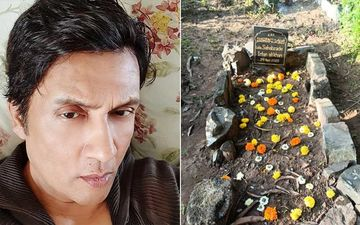Shekhar Suman Shares A Picture Of Late Actor Irrfan Khan's Grave, 'After All The Fame You Lie Alone In An Unkempt Grave'
