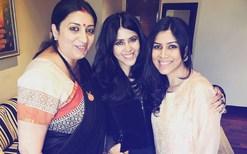 Who Does Ekta Kapoor Like More - Sakshi Tanwar Or Smriti Irani? Her Answer Will Leave You Speechless