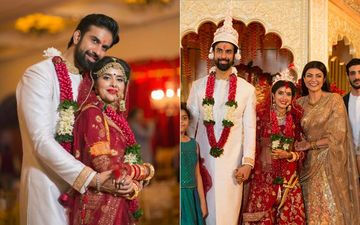Rajeev Sen-Charu Asopa Get Married In Goa; Sister Sushmita And Beau Rohman Pose With Bride-Groom