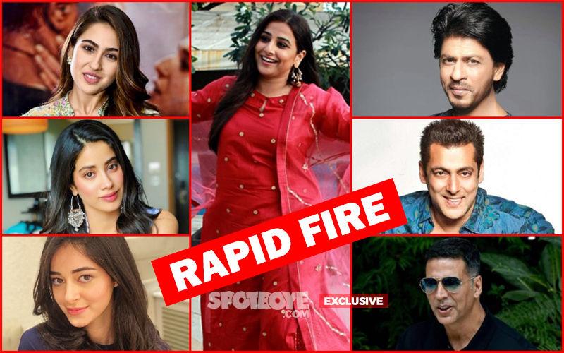 Sex, Love Or Money? Sara, Janhvi Or Ananya? SRK, Salman Or Akshay? Vidya Balan Tells Her Preferences- EXCLUSIVE