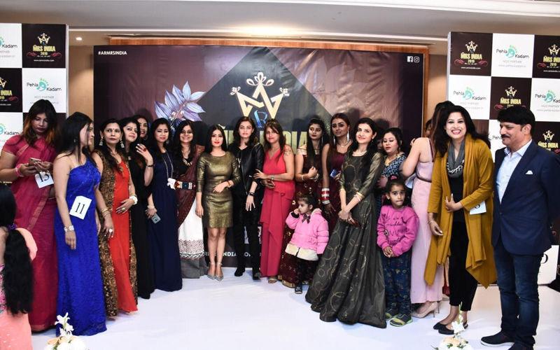 Nivedita Basu's Pehla Kadam Collaborates With Ashish Rai's AR Mrs. India 2019 As NGO Partner!