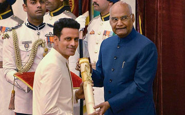Manoj Bajpayee Honoured With Padma Shri By President Ram Nath Kovind