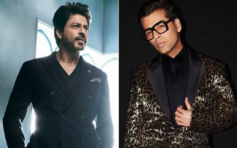 "Shah Rukh Khan's Witty Counter To Karan Johar 'LIKING' A Tweet Slamming The Superstar: ""He Has Fat Fingers"""