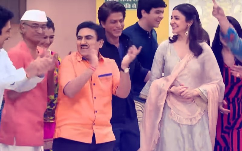 Shah Rukh Khan- Anushka Sharma Shoot Up Taarak Mehta Ka Ooltah Chashmah Ratings