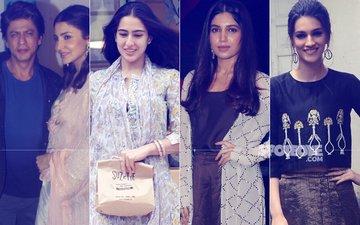 STUNNER OR BUMMER: Shah Rukh Khan, Anushka Sharma, Sara Ali Khan Or Bhumi Pednekar?