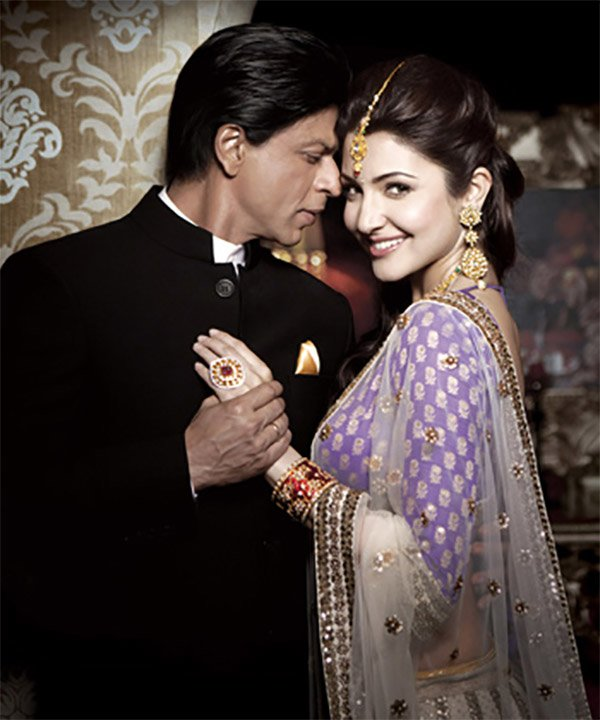 shah rukh khan and anushka