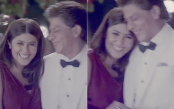 """Ekta Kapoor Was """"Dying To Say"""" This To Shah Rukh Khan- Watch Video"""