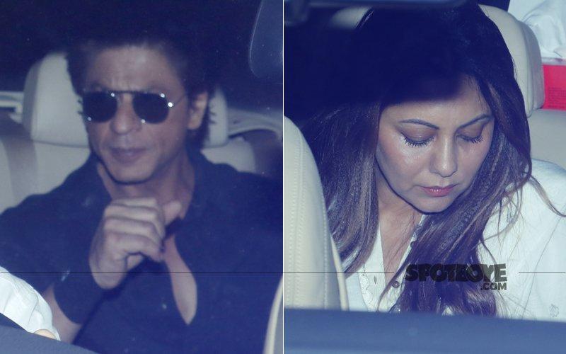 Sridevi Passes Away: Shah Rukh Khan & Gauri Khan Meet The Bereaved Family