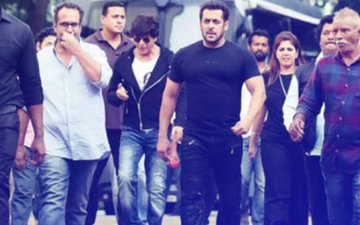 Salman Khan Joins Shah Rukh Khan To Shoot For Aanand L Rai's Next
