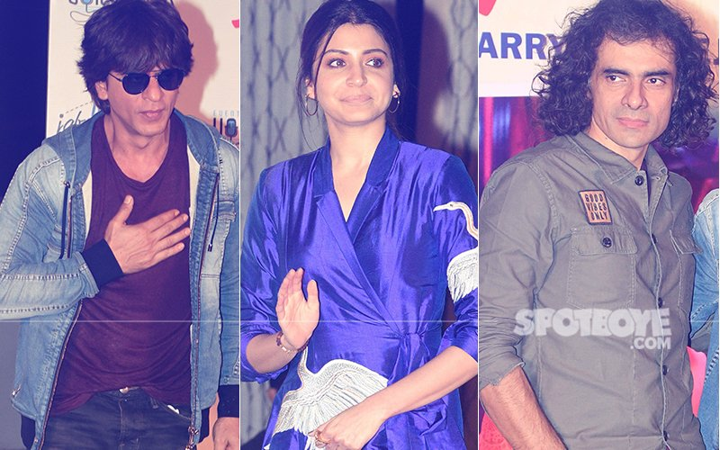 Shah Rukh Khan, Anushka Sharma & Imitiaz Ali Promote Jab Harry Met Sejal In Delhi