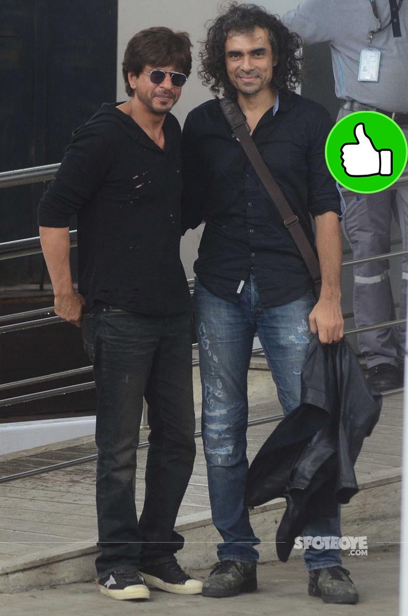 shah rukh khan at the airport