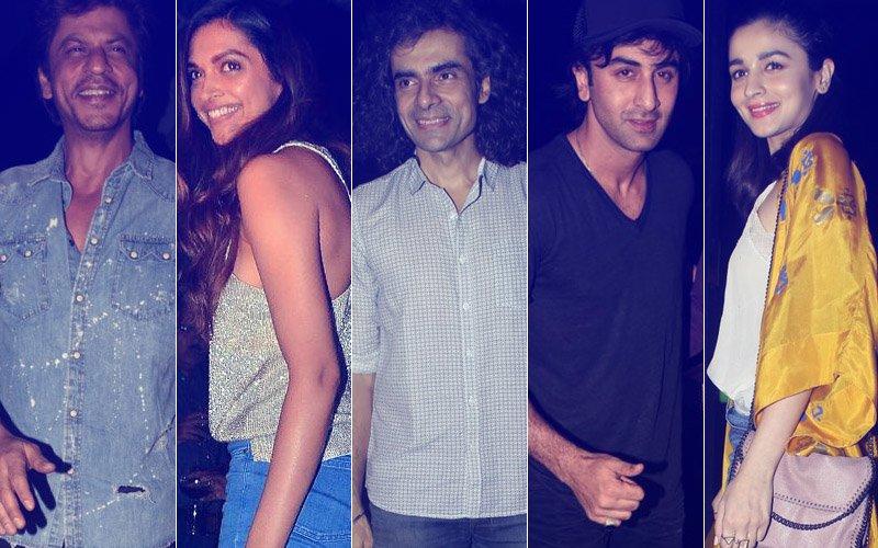 Shah Rukh Khan, Deepika Padukone, Ranbir Kapoor & Alia Bhatt Celebrate Imtiaz Ali's Birthday