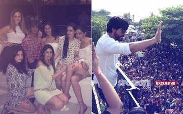 SRK Spent The Night Partying At Alibaug & His Poor Fans Spent Theirs At The Police Station