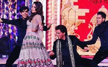 ईशा अंबानी के संगीत सेरेमनी में शाहरुख खान ने पत्नी गौरी के साथ किया जमकर डांस