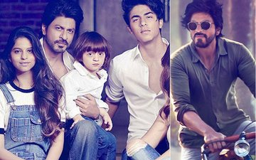 Shah Rukh Khan Opens Up About AbRam, Suhana, Aryan & More...