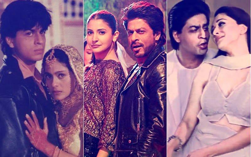 5 Films Where Jab Harry Met Sejal Star Shah Rukh Khan Stole Another Man's Fiancée