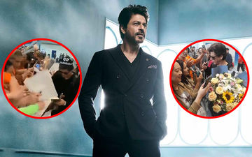 Shah Rukh Khan Mobbed By Fans Ahead Of Zero Screening In China