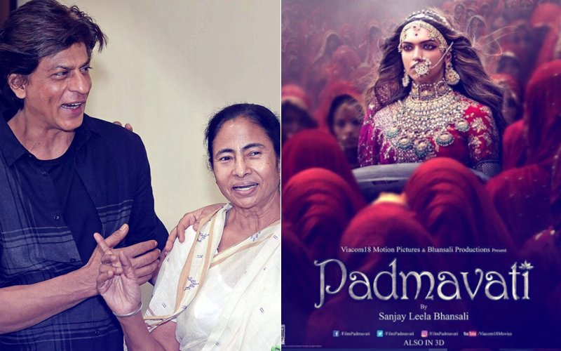 Shah Rukh Khan's Good Friend Mamata Banerjee Stands Up For Deepika Padukone's Padmavati