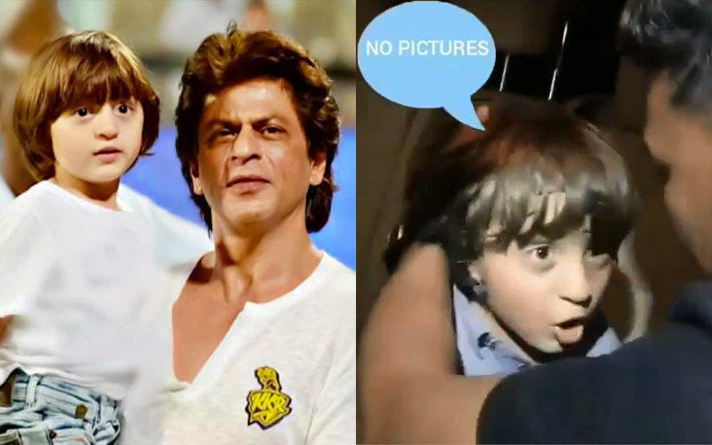 Shah Rukh Khan's Son AbRam Screams 'No Pictures' To Paparazzi - In Video