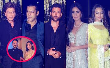 Shah Rukh Khan, Salman Khan, Hrithik Roshan, Katrina Kaif, Sonakshi Sinha Dazzle At Poorna Patel's Wedding Reception