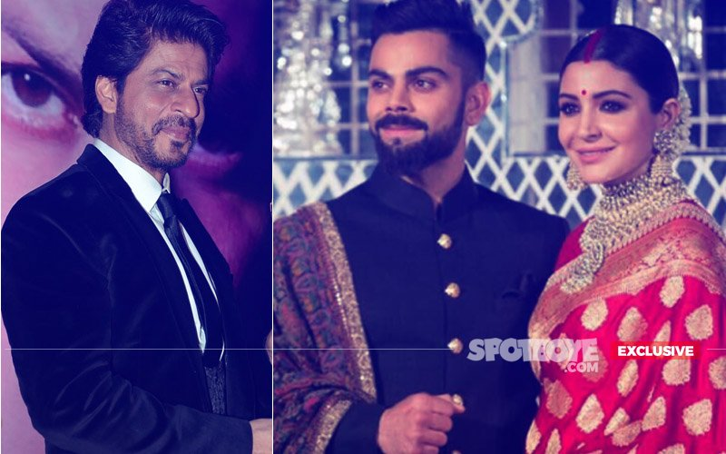 VIRAT-ANUSHKA MUMBAI RECEPTION: Couple Summons Shah Rukh Khan's TRUSTED Man To Keep Guests SAFE!