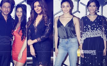 Shah Rukh Khan, Alia Bhatt & Sonam Kapoor Attend The Opening Of A Lounge Designed By Gauri Khan