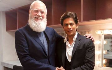 """Shah Rukh Khan: """"Before Batman And Spiderman, There Is Mr. Letterman"""""""