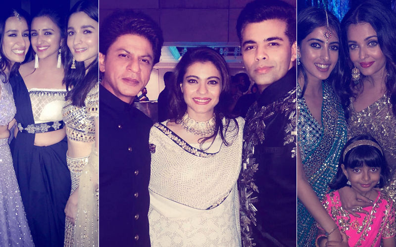 Ambani Engagement Party: SRK, Kjo, Kajol, Aishwarya, Alia's Clicks Are Proof That It Was A Night To Remember